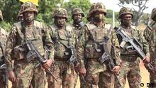 Official launch ceremony of the SADC military mission in Pemba | Pemba (09.08.21)