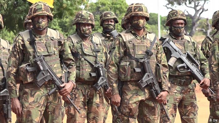 Militares da SADC em Cabo Delgado