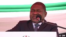 Filipe Nyusi, Official launch ceremony of the SADC military mission in Pemba | Pemba (09.08.21)