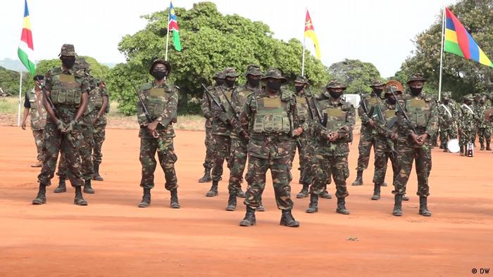Mosambik Pemba | Offiziele Veranstaltung Militär