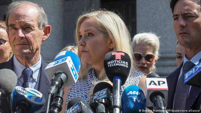 USA Fall Jeffrey Epstein: Virginia Giuffre