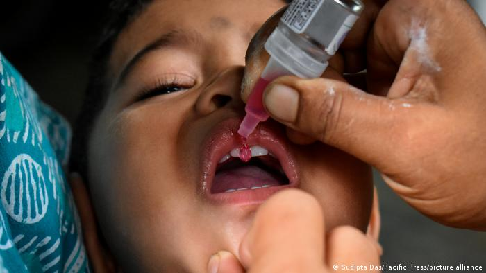 BG Geschichte der Impfungen | Polio Indien