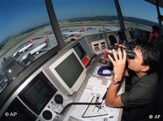 An air traffic controller