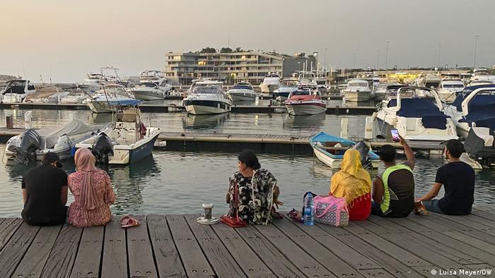 Libanon Beirut Yachthafen Zeitouna Bay