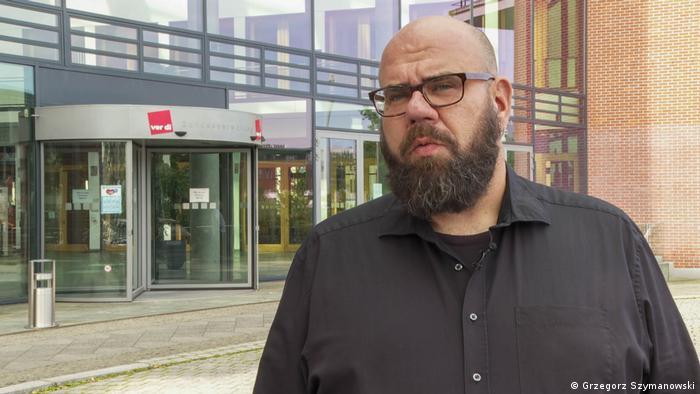 Stefan Thyroke, Leiter Fachgruppe Logistik bei Verdi