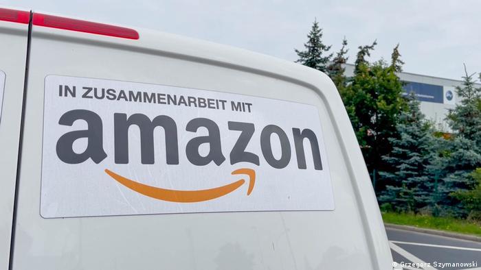 Viele Autos von Amazon-Subunternehmen sind entsprechend markiert