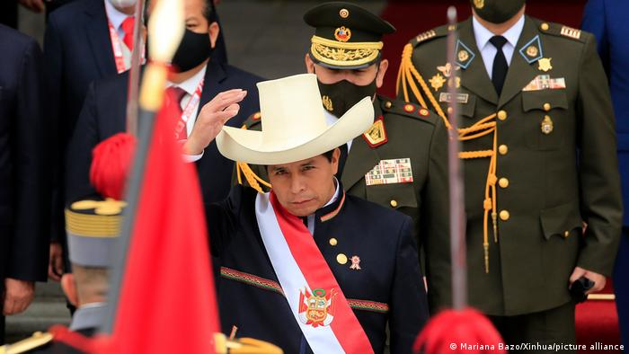 Pedro Castillo, presidente de Perú.
