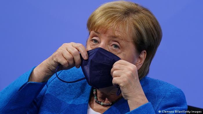 Berlin | Pressekonferenz: Angela Merkel