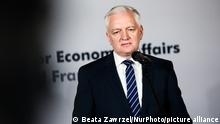 Jaroslaw Gowin, Deputy Prime Minister and Minister of Economic Development at Poland , attends V4 and France economic ministers meeting in Krakow, Poland on June 21, 2021. Polish Presidency of the Visegrad Group lasts from July 202 until June 2021. (Photo by Beata Zawrzel/NurPhoto)