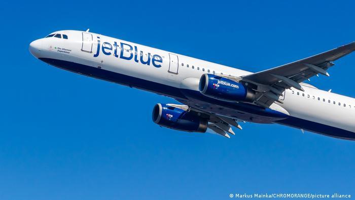 Airbus A321 Flugzeug der JetBlue