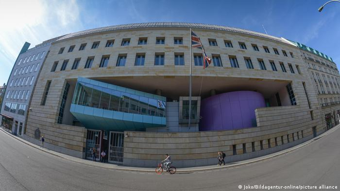 Berlin Botschaft Großbritannien Wilhelmstrasse