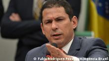 O presidente da comissão especial da Reforma da Previdência na Câmara, deputado Marcelo Ramos,durante a audiência pública na Comissão Especial da Câmara que analisa a proposta de emenda à Constituição da reforma da Previdência (PEC 06/19)