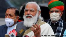 FILE PHOTO: FILE PHOTO: India's Prime Minister Narendra Modi in New Delhi, India, January 29, 2021. REUTERS/Adnan Abidi/File Photo/File Photo