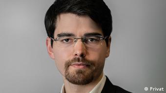 Алесь Алехнович, представитель по экономическим реформам экс-кандидата в президенты Беларуси Светланы Тихановской