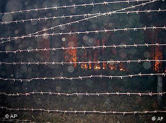 Пожарите се во предворјето на нуклеарната централа во Саров