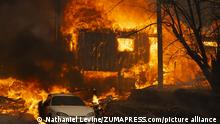 August 7, 2021: A home burns on Highway 89 south of Greenville, California, near Forgay Road during the Dixie fire on August 5, 2021. (Credit Image: © Nathaniel Levine/TNS via ZUMA Press Wire/TNS via ZUMA Press Wire