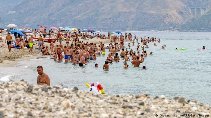 Italien Messina   Hitzerekord in Sizilien