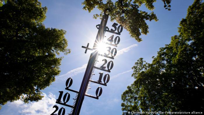 Symbolfoto Sommerliche Temperaturen