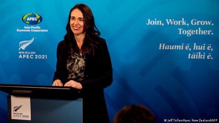 Neuseelands Premierministerin Jacinda Ardern