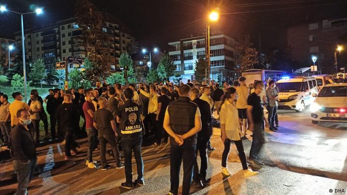 Türkei   Ausschreitungen in Altindag-Ankara