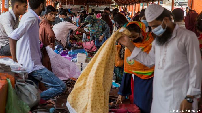 Bangladesch Dhaka Ende des Lockdown