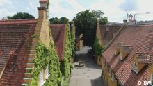 14.8.2021, Euromaxx, Deutschland Sozialsiedlung Fuggerei in Augsburg