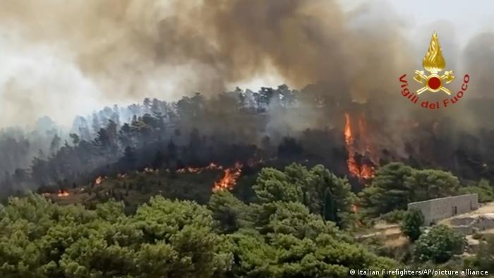 Ιταλία | δασικές πυρκαγιές