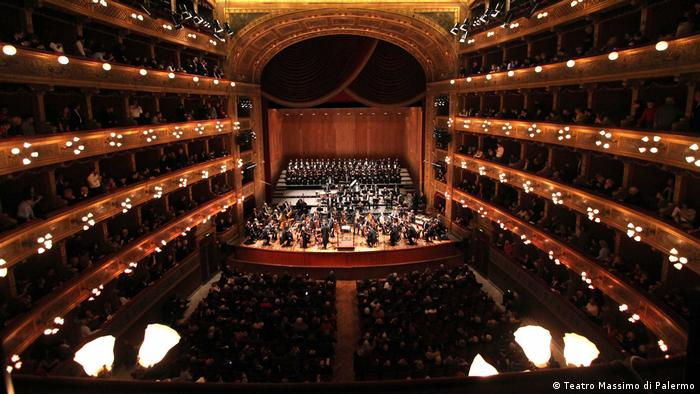 Italien Sizilien Coro Arcobaleno Chor
