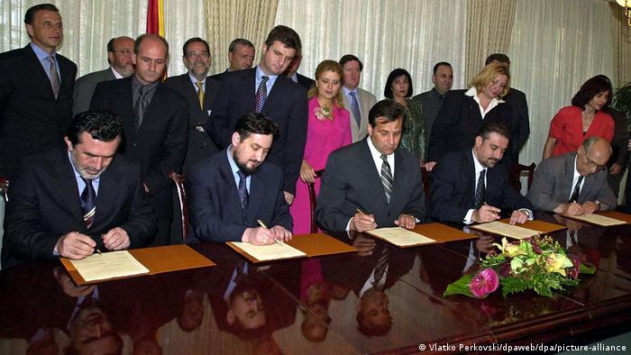 Friedensabkommen für Mazedonien unterzeichnet