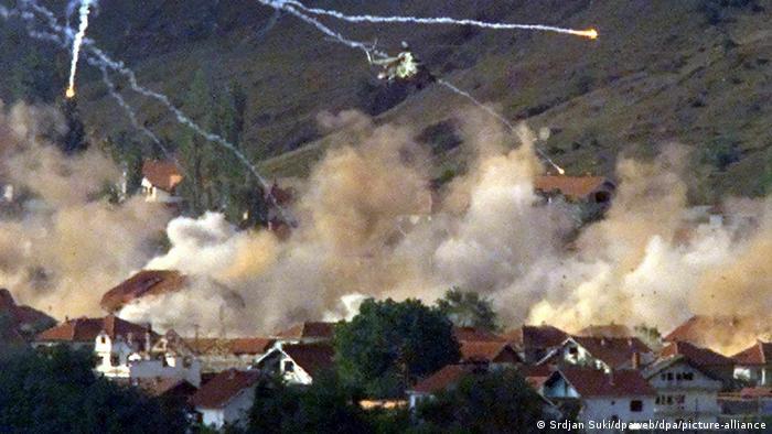 Hubschrauber-Angriff in Mazedonien