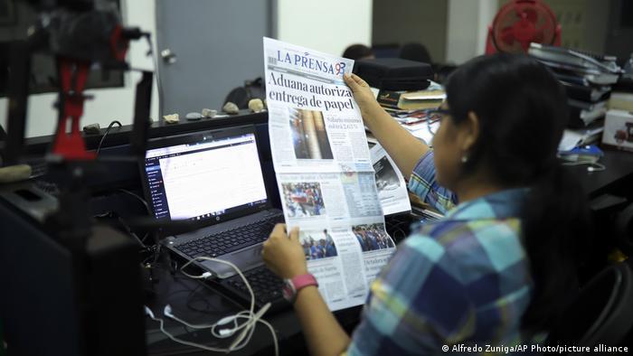 La Prensa de Nicaragua.