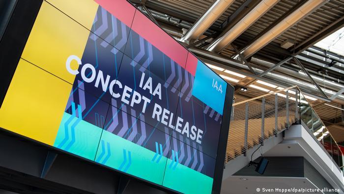 Internationale Automobilausstellung IAA Maskenpflicht
