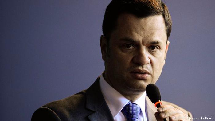 O ministro da Justiça, Anderson Torres