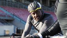 Rennrollstuhlfahrer Alhassane Baldé, der für Deutschland bei den Paralympics in Tokio startet.