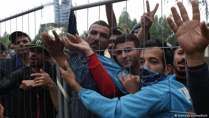 U kampu Rudnikaj su uglavnom mlađi muškarci