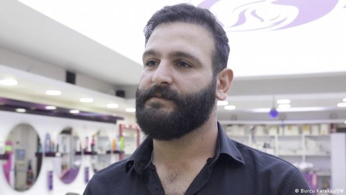 Photo of Hidir, a Syrian-Lebanese refugee in Istanbul