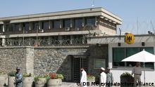ARCHIV - Blick auf die deutsche Botschaft in Kabul am 17.08.2007. (zu «Dutzende Tote nach Anschlag in Kabul - Deutsche Botschaft massiv beschädigt» vom 31.05.2017) Foto: DB Merey/dpa +++ dpa-Bildfunk +++
