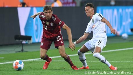 German Cup: Gladbach vs Bayern Munich live blog