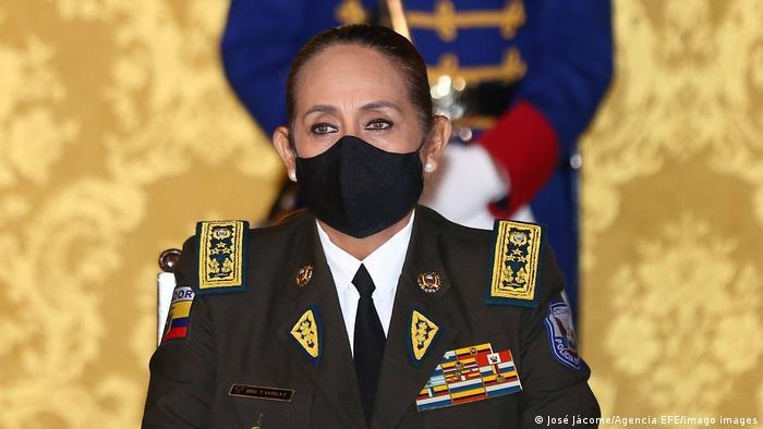 Ecuadors Polizei-Chefin Tanya Varela