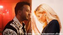 Cover des Singles «Vamos a Marte» von Helene Fischer und Luis Fonsi. Das Musikvideo zu Helene Fischers Comeback-Duett feiert am 06.08.2021 Premiere auf allen Sendern der Mediengruppe RTL und bei Youtube. +++ dpa-Bildfunk +++