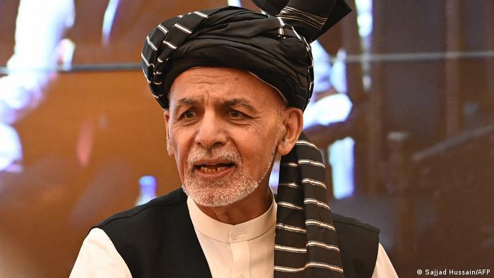 Der afghanische Staatschef Ashraf Ghani spricht von der Remobilisierung der Streitkräfte und politischen Beratungen