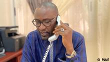 Abdoulaye Diop, Außenminister von Mali. Ort Bamako, Mali Rechte frei.