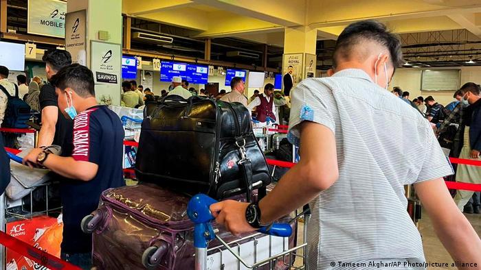 Afghanistan | Menschen fliehen aus Kabul