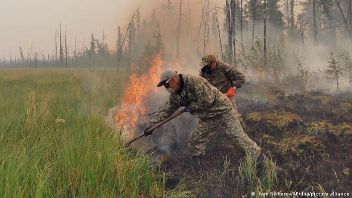 Russland Waldbrände