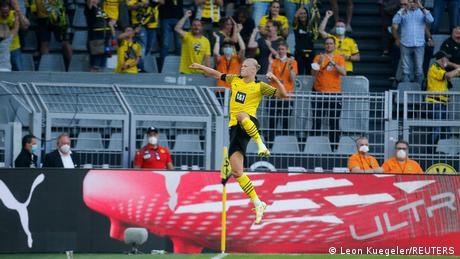 Bundesliga: Haaland runs riot as Marco Rose wins in style on Borussia Dortmund debut
