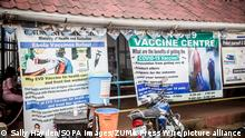 July 22, 2021, Freetown, Sierra Leone: Connaught Hospital in central Freetown offers both Ebola and COVID-19 vaccines. .Sierra Leone is currently experiencing a third wave of coronavirus cases. (Credit Image: © Sally Hayden/SOPA Images via ZUMA Press Wire
