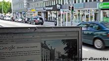 Google Street View Symbolbild