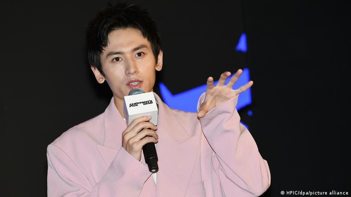 China Schauspieler Zhang Zhehan