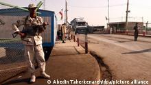 Kontrollpunkt an der Grenze zu Afghanistan