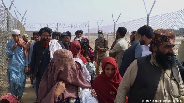 Pakistan Chaman | Grenze zu Afghanistan: Grenzkontrollen